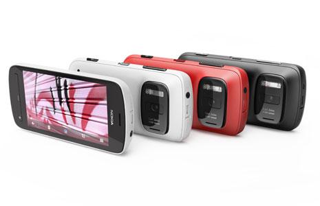 Nokia 808 PureView Nokiassa 41 megapikselin kamera, kuvat silti järkevän kokoisia