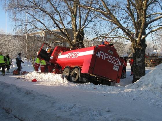 Traktori Onnettomuus