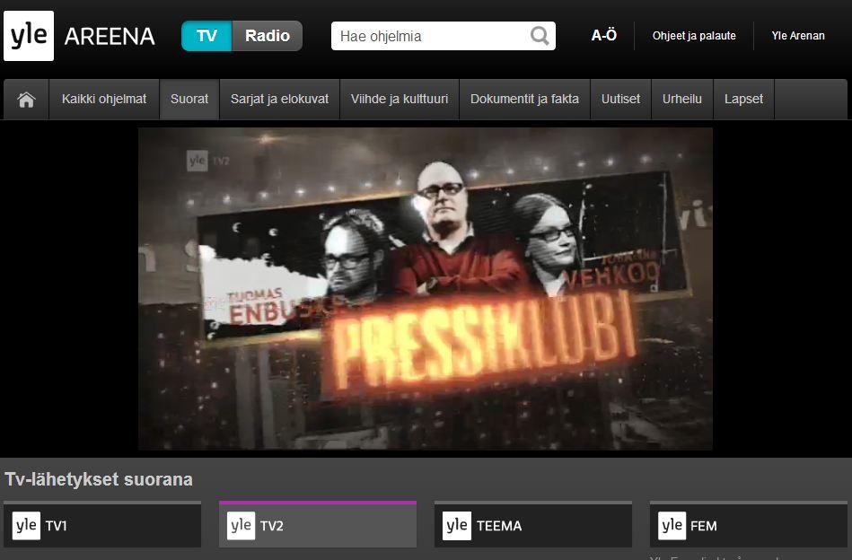 suomen tv kanavat netissä Naantali