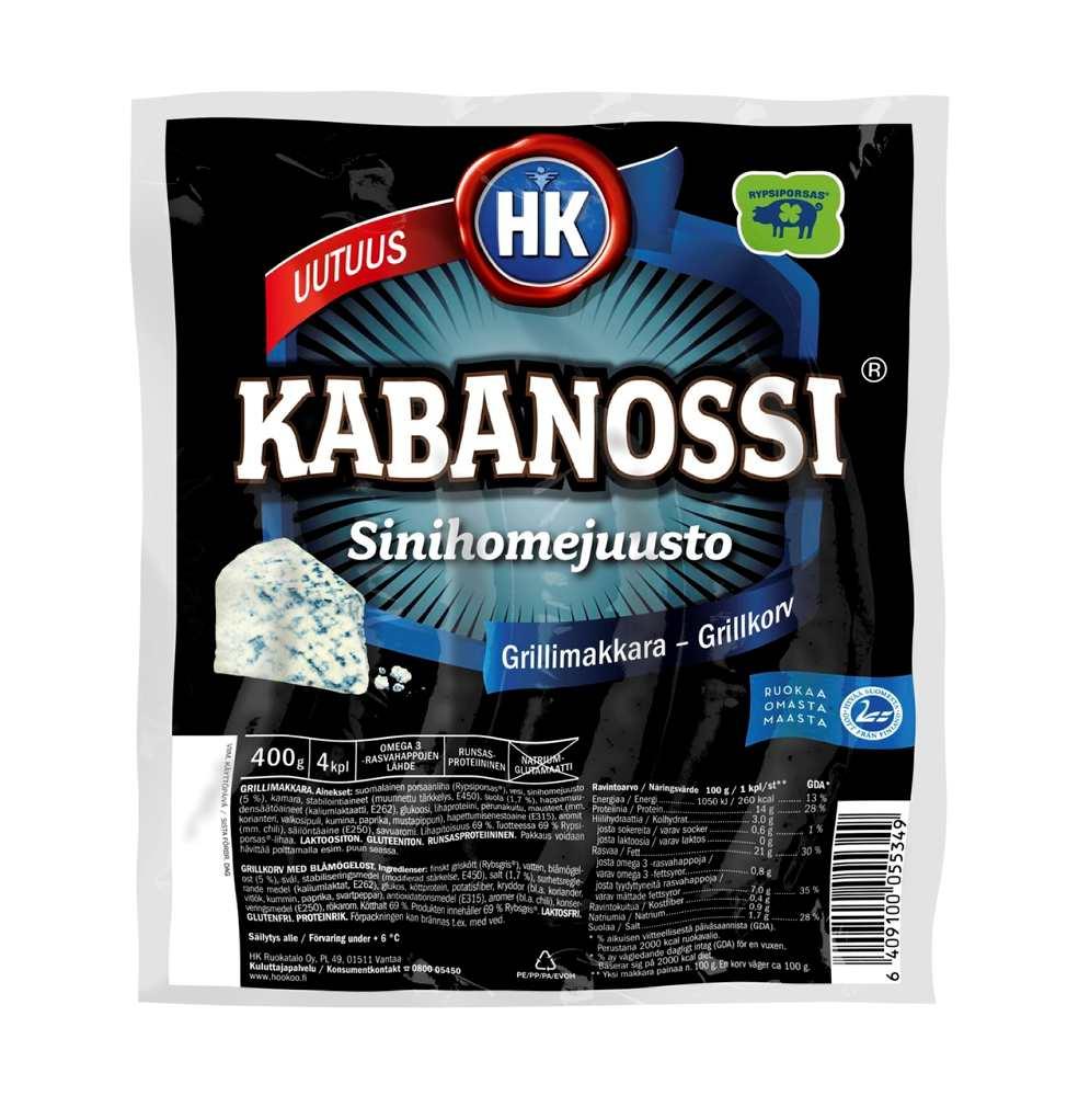 kaba Kabanossissa on suolaa ja rasvaa paljon ilmoitettua enemmän
