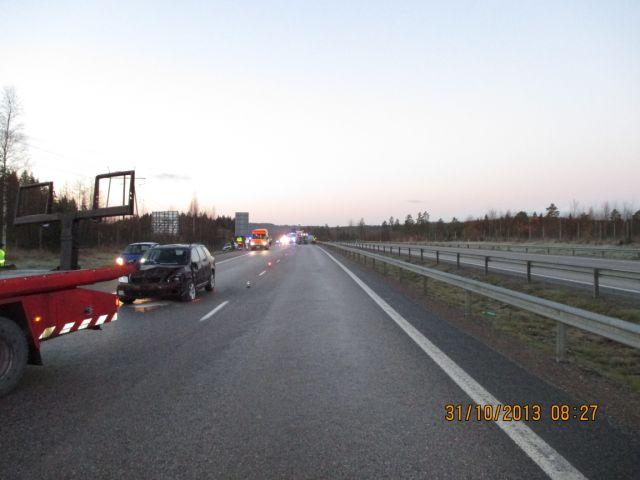 IMG 0157 Raju ketjukolari moottoritiellä