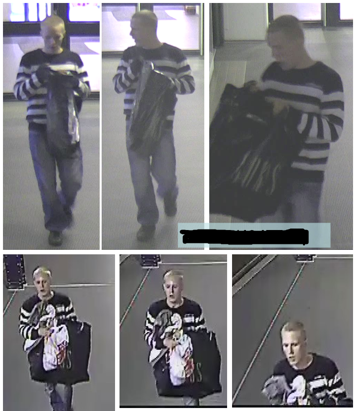 Kultaryöstö Löi naismyyjää, varasti yli 60 000 euron korut   Tunnistatko tämän miehen?