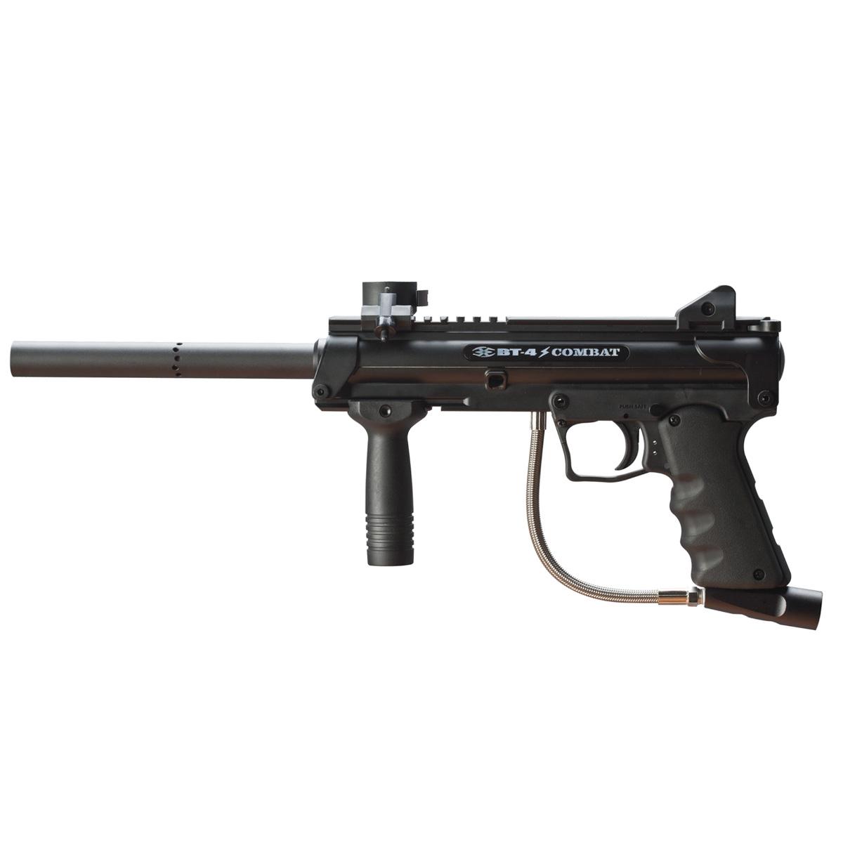 Empire Battle Tested BT4 Slice Combat Paintball Gun 0 Värikuula aseen kanssa liikkunut poika aiheutti pelkoa