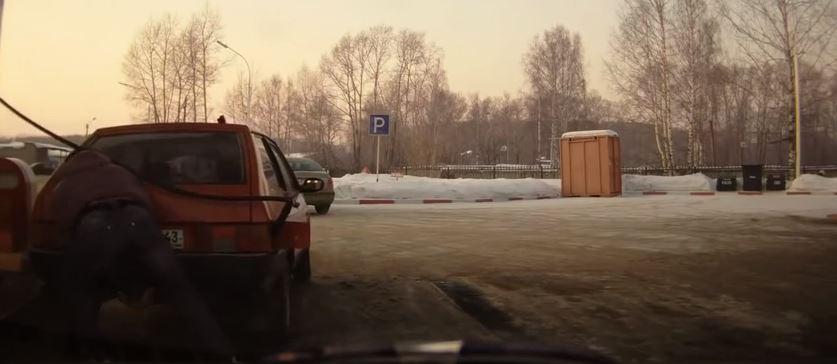 bensa Tankkaus Venäjällä ällistyttää