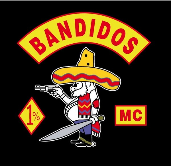Bandidos logo Jengiläiset ampuivat trukkikuskia keskellä päivää