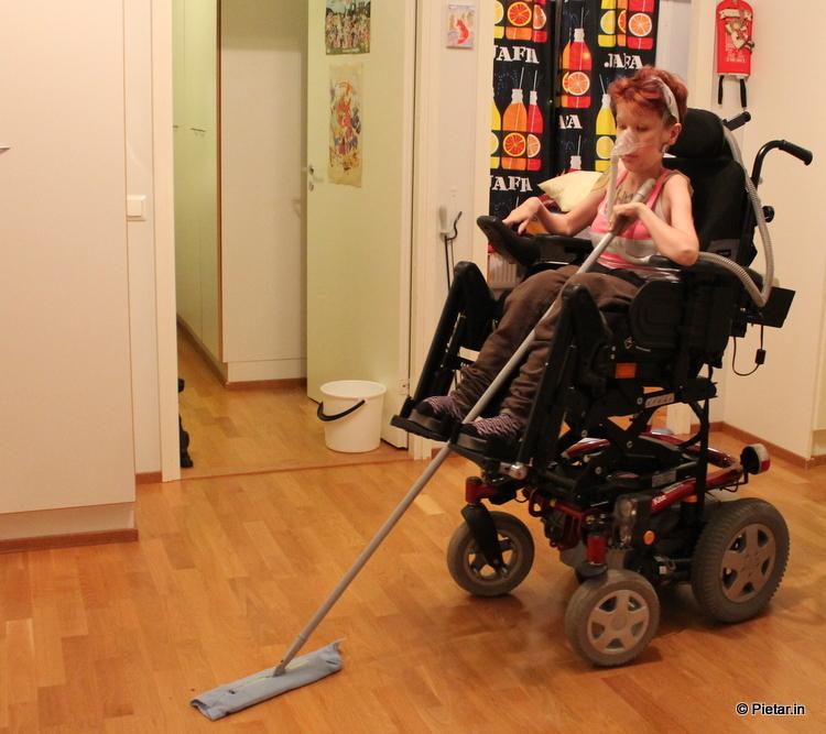 IMG 0540 Vammaisen oikeus omaan asuntoon