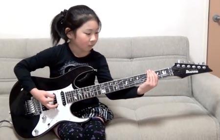 lisaxheavykitaristi28032014 9 vuotias pikkutyttö on uskomaton heavykitaristi