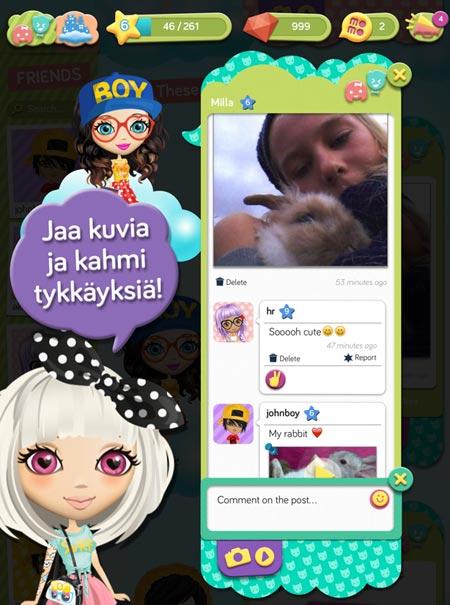 momio13032014 Lasten oma Facebook aukeaa Suomessa