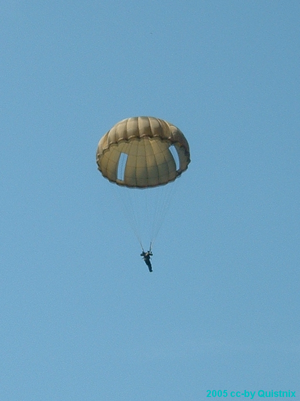 Ronde parachute Laskuvarjohyppy epäonnistui   Hyppääjä kuoli onnettomuudessa