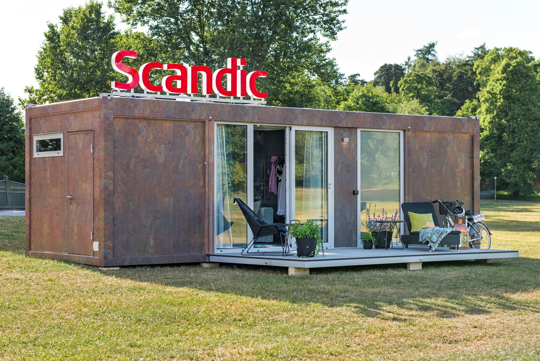 Scandic To Go ulkoa 1 Scandic tuo Suomeen konttihotellihuoneen   Voita haluamaasi paikkaan
