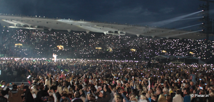 IMG 3773 Cheek olympiastadionilla, sekä muut Helsingin kokemukset
