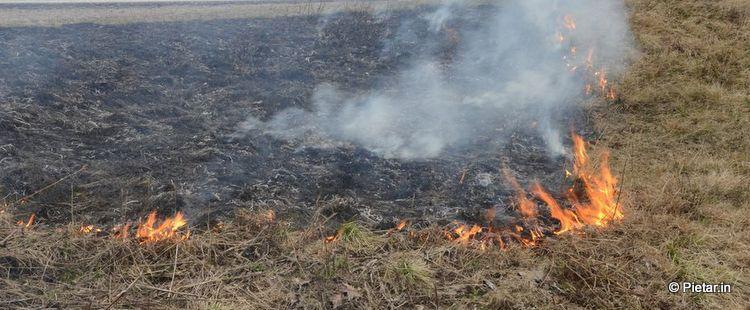 kulotus Mies menehtyi traagisesti: Yritti sammuttaa kulotuksesta levinnyttä paloa