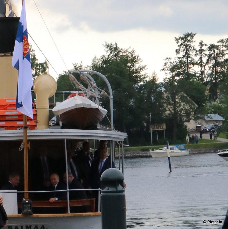 IMG 1115 Poliisi kiittää asukkaita   Kuvia Putinin vierailusta
